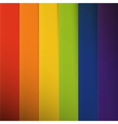 Abstract colorful rainbow stripes background vector