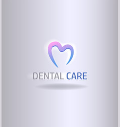 abstract tooth image vector image