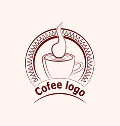 Coffee or cup of tea vector