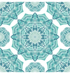 Icy turquoise pattern vector