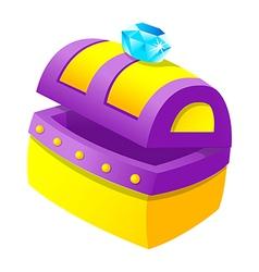 jewel box vector image