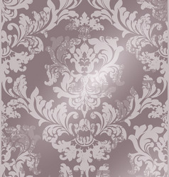 luxury classic ornament on grunge background vector image