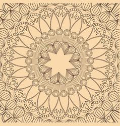 mandala tribal round decorative wallpaper vector image