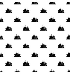 Mountains pattern seamless vector