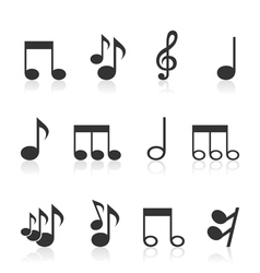 Note an icon vector