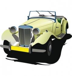 rarity car vector image vector image