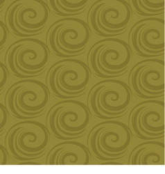 abstract seamless background with spirals vector image
