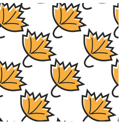 Canada symbol maple leaf seamless pattern canadian vector