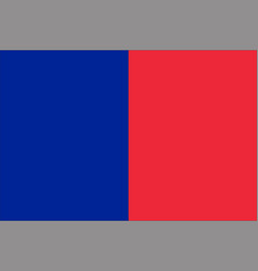 Flag of paris france vector