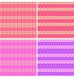 Knit seamless vector
