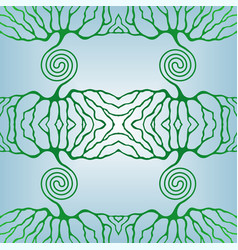 life tree pattern vector image