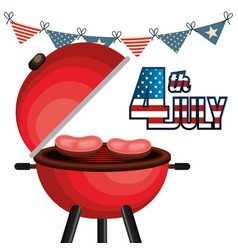 usa independence day barbeque party vector image