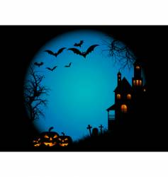 halloween night vector image