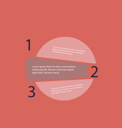 5 steps of modern arrow infografics template for vector