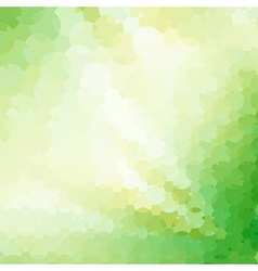 Abstract green geometrical background vector