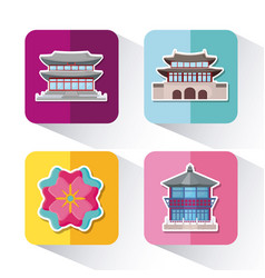 asia culture design vector image
