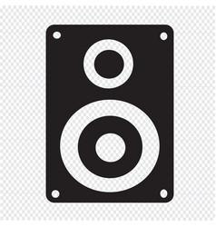 audio speakers icon vector image