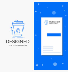 Business logo for product promo coffee cup brand vector