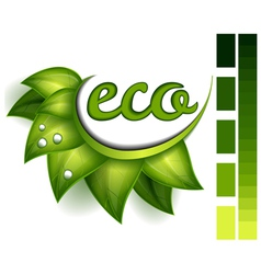Ecological symbol vector