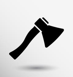 Fire ax icon button logo symbol vector