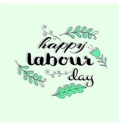 Labour Day concept vector image
