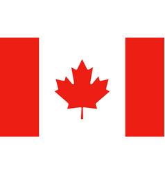 National flag canada vector