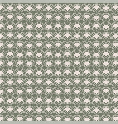 Seamless geometric art deco pattern vector