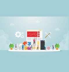 System integration information technology with vector