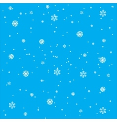 Background from snowflake vector