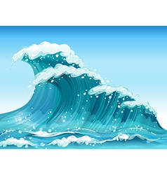 Big waves vector
