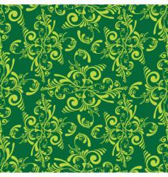 floral tile vector image