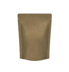 Mockup Blank Foil Food Or Drink vector image