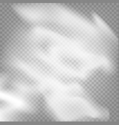 smoke effect on transparent background vector image