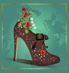 Vintage Shoe vector