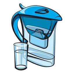 water filter vector image