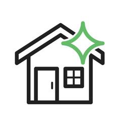 Clean house vector