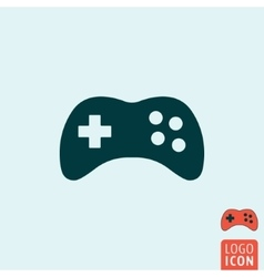 Gamepad icon isolated vector image