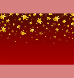 beautiful pattern thai style on red background vector image
