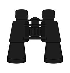 binoculars icon Color vector image
