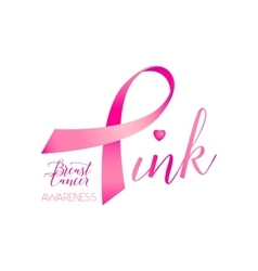 breast cancer ribbons and vector image