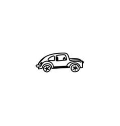 car cartoon icon vector image