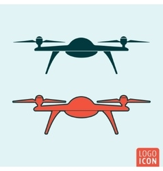 Drone icon isolated vector