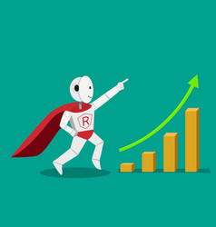 Hero humanoid robot can increase your profit vector