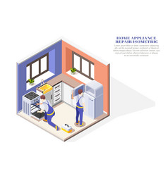 Home appliance repair composition vector