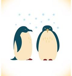 Penguin design vector