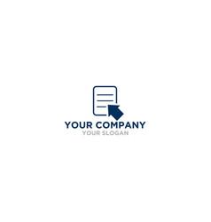 Quick tax logo design vector