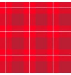 Red tartan pattern vector