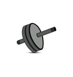 Roller for abdomen vector