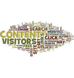 Free article content text background word cloud vector