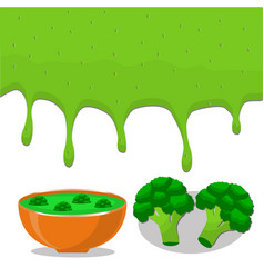 the soup vector image vector image